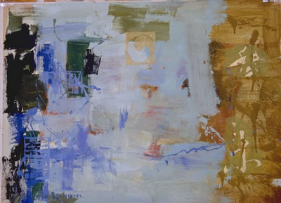 "Words with Ying Yang | 28"" x 36"" 